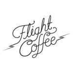 Flight Coffee Logo Bean Merchant