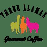 Three Llamas Logo Bean Merchant