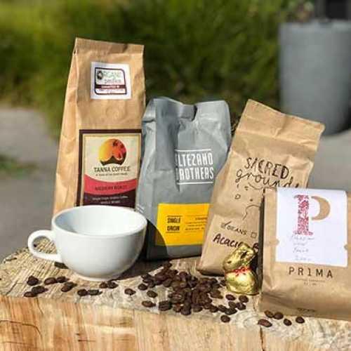 Bean Merchant's Wide range of coffee roasters